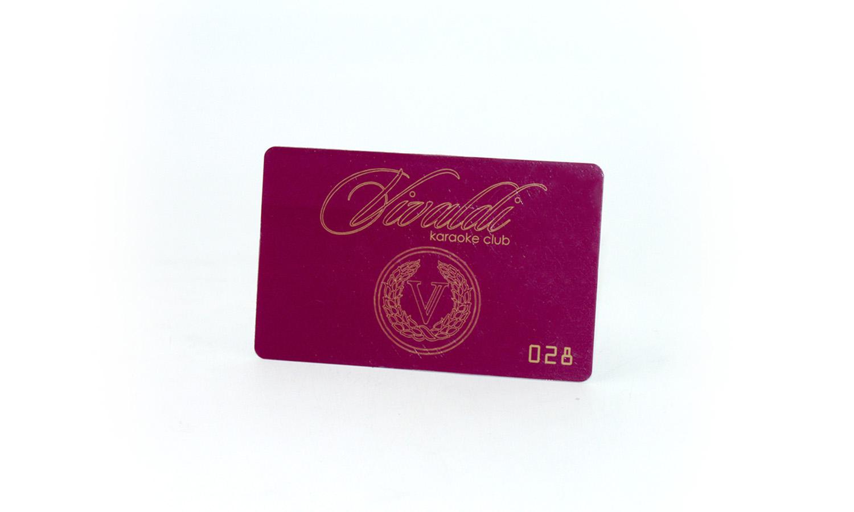 Carduri de reducere Vivaldi Дисконтные карточки Vivaldi